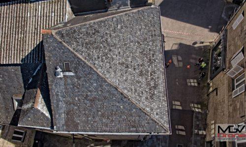 Galerie, toiture Brive